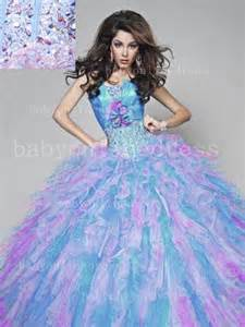 colorful quinceanera dresses colorful quinceanera dresses strapless flower beading