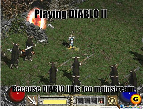 Diablo Meme - diablo ii by partyboyg meme center