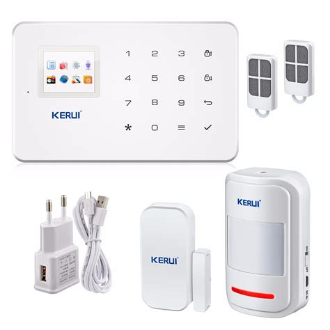 thin gsm alarm systems android ios app alarms home