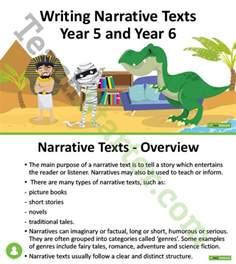 Writing A Narrative Essay Powerpoint by Writing Narrative Texts Unit Plan Year 5 And Year 6 Unit Plan Teach Starter