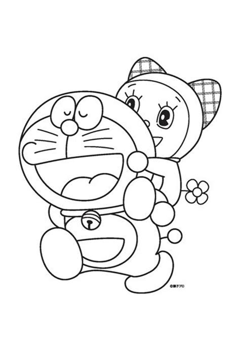 Free How To Draw Doraemon Coloring Pages Doraemon Colouring Pages