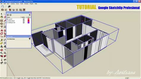 google sketchup tutorial part 2 tutorial google sketchup profesional membuat desain rumah