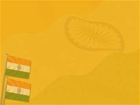 India Flag 09 Powerpoint Templates India Powerpoint Template