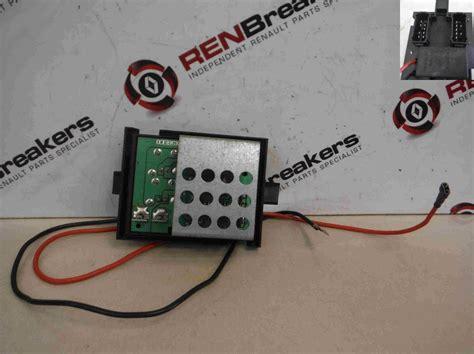heater resistor pack my renault laguna renault laguna 1999 2000 heater motor resistor fan