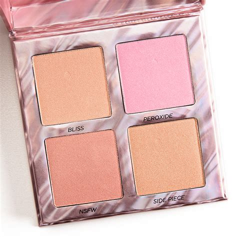 Highlighter Decay decay afterglow highlighter palette temptalia howldb