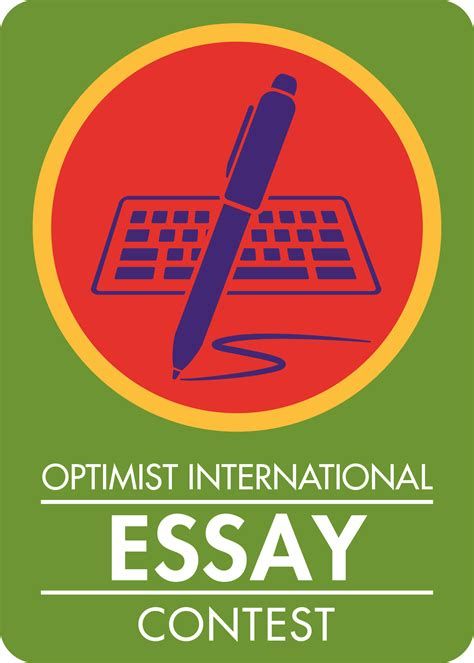 Essay Contest International by Optimist International Essay Contest Optimist International Essay Contest 2013 Ayucar