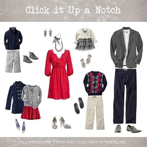what to wear in family pictures december click it up a