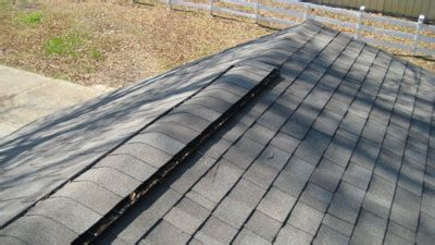 good ridge vent a wise inspector com ventilation is very important in a