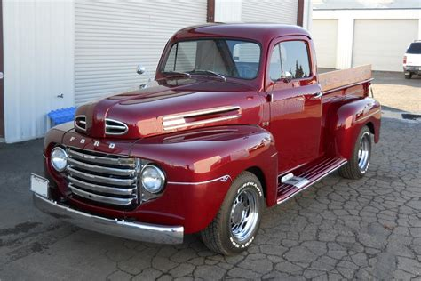 1950 ford f 1 custom barrett jackson auction
