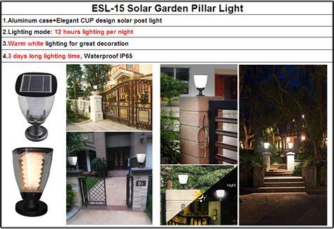 novelty solar lights for garden novelty decorative garden fence solar lights post cap for