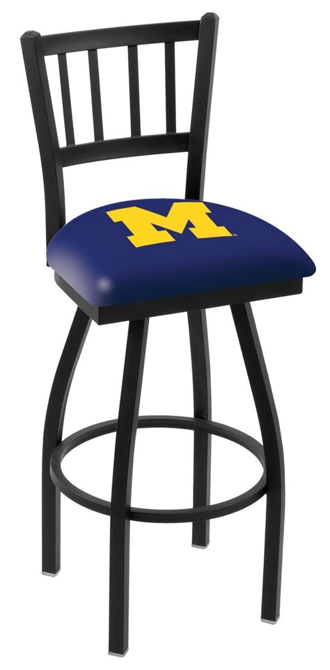 Team Logo Bar Stools by L018 Of Michigan Logo Bar Stool