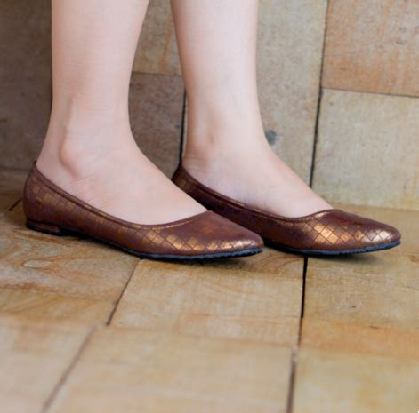 Flat Shoes Cantik List Gold Cf Sepatu Murah flat shoes cantik murah grosimart