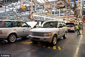 jaguar land rover to one of its factories as