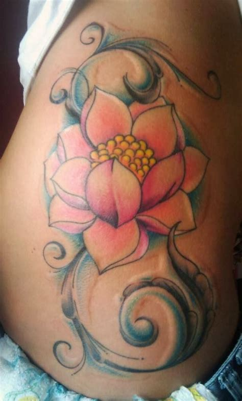 hip flower tattoo designs 40 hip designs for