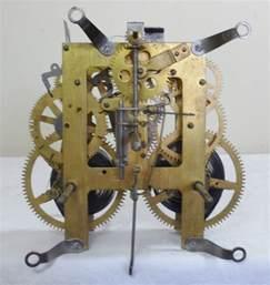 part of an old clock now a piece of art hmm vintage antique e ingraham mantel mantle clock movement pendulum