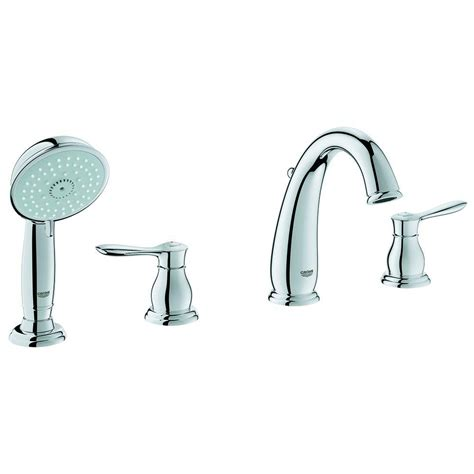 grohe parkfield bathroom faucet grohe parkfield 2 handle roman tub faucet with