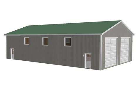 workshop design online download free sle pole barn plans g322 40 x 72 16