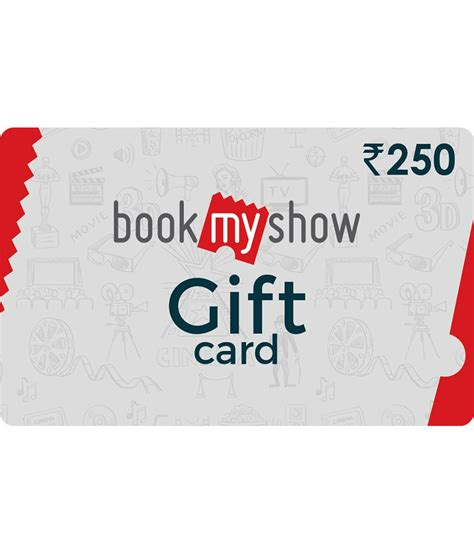 bookmyshow gift voucher bookmyshow e gift card buy online on snapdeal