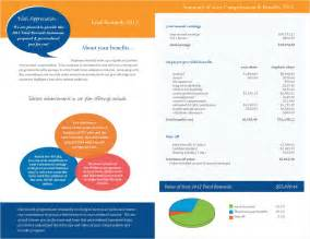 Compensation Statement Template by Free Total Compensation Statement Templates Go