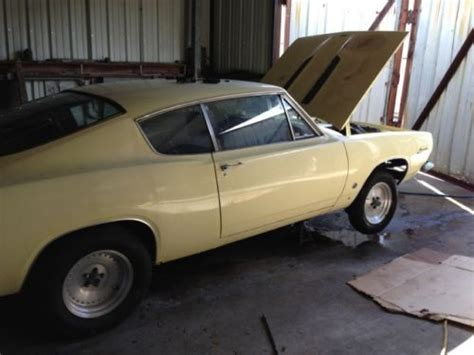 sell   plymouth barracuda fastback  metairie