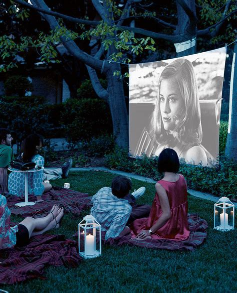 backyard movie night host a movie night 13 creative ways to have more fun in