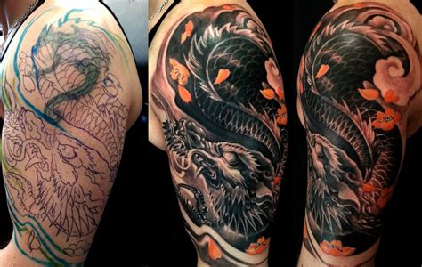 cover up japanese tattoo design