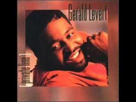gerald levert private  youtube
