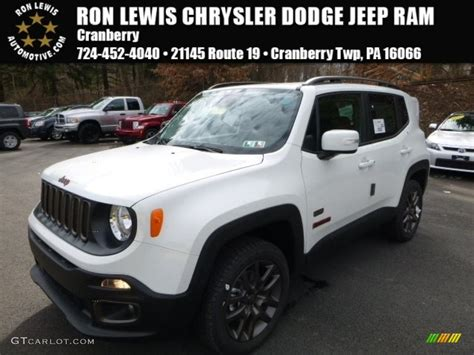 jeep renegade white 2016 alpine white jeep renegade latitude 4x4 111328350