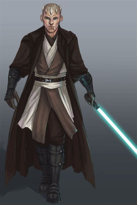 Zabrak Male Jedi | Zabrak | Pinterest | Star, Starwars and ... Zabrak Jedi And Sith