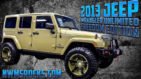 Jeep Freedom 2013 Jeep Wrangler Unlimited Freedom Edition Northwest