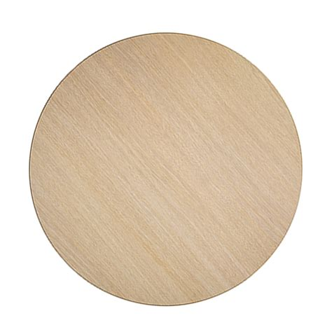 round solid wood plank top sandler seating