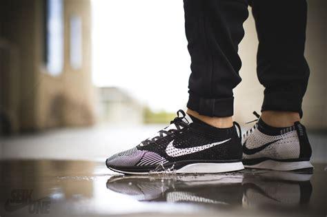 Nike Flyknit Racer Maroon Black nike flyknit racer black white