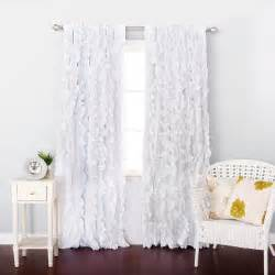 white ruffle window curtains white ruffle window curtains html 187 home design 2017