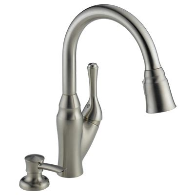 best kitchen faucets 2014 delta 16971 dst pull down faucet review