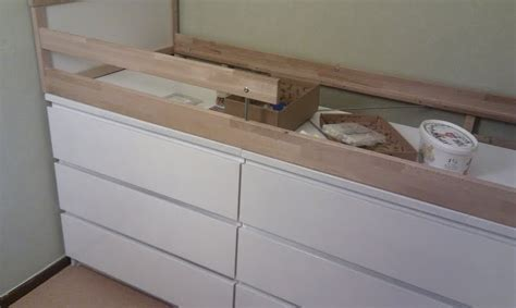malm storage bed hack better than sticking the kid in the actual dresser drawer