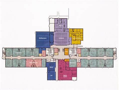 elementary school floor plans virginia cross elementary school j scott hughes archinect
