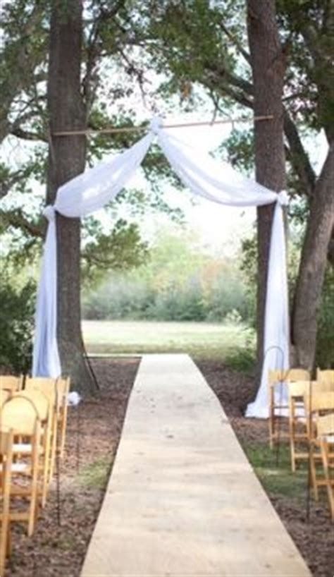 Wedding Arch Between Trees by Ideas To Make Your Own Wedding Arch Azalea