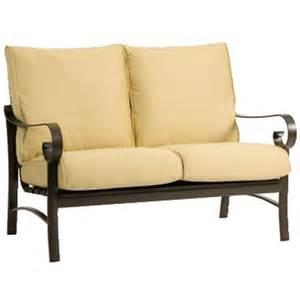 Wicker Patio Set Clearance Belden Cushion Deep Seating Set By Woodard Family Leisure