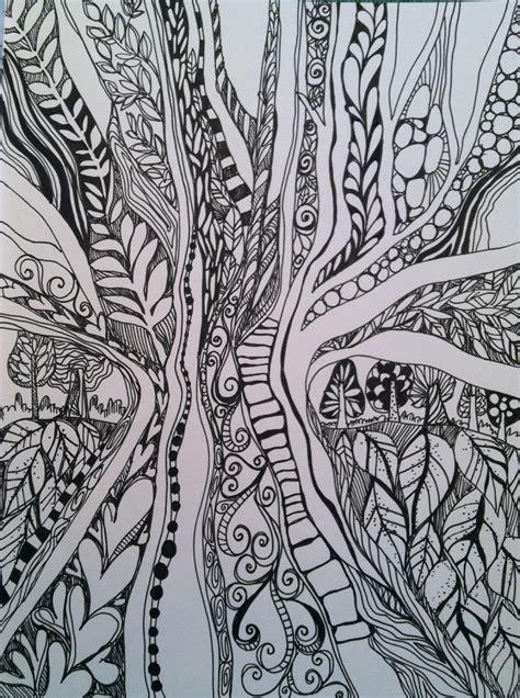sketchbook doodle the sketchbook challenge in the doodle woods