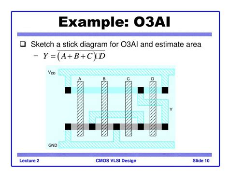 basics of layout design in vlsi ppt introduction to cmos vlsi design lecture 2 standard
