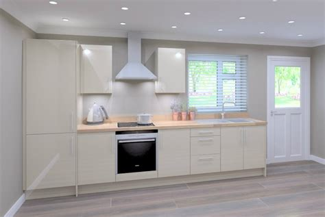 Single Galley Kitchen by Modern Door High Value Kitchen Trade Kitchens For All