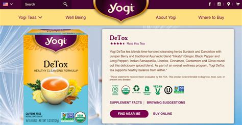 Detox Healthy Cleansing Formula Yogi Review by 25 Forms Of Happiness And Counting Apparently Happiness