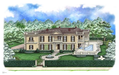 plantation home plans elwood luxury plantation home plan 128d 0005 house plans