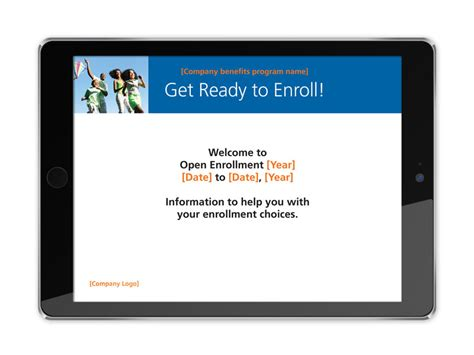 Open Enrollment Powerpoint Template Related Keywords Open Enrollment Powerpoint Template Long Open Enrollment Template