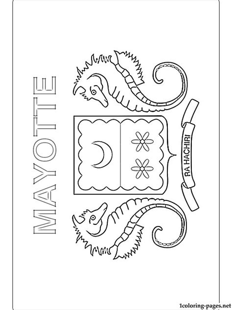 madagascar flag coloring pages