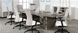 Zira Boardroom Table Zira Boardroom Tables By Global Total Office For Sale
