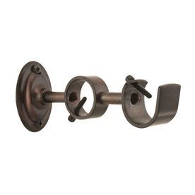 no nail curtain rod brackets 17 best ideas about double curtain rod brackets on