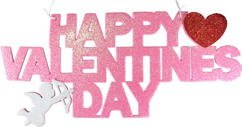 valentines sign 83411 15 quot x 6 quot poly foam happy valentines day signs