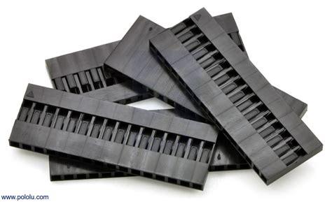 Black Housing 16 Pin Pin pololu 0 1 quot 2 54mm crimp connector housing 1 215 16 pin 5 pack