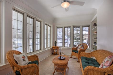 Sunroom Window Replacement sunroom window replacement traditional porch grand rapids by thompson remodeling